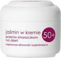Ziaja Seria Jaśminowa Jaśmin w kremie przeciw zmarszczkom 50+ na dzień 50 ml