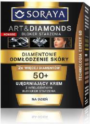 Soraya Art and Diamonds Diamentowe Odmłodzenie Skóry Ujędrniający krem na dzień 50+ 50ml