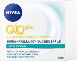 Nivea Q10 Plus Krem przeciwzmarszczkowy na dzień do cery mieszanej  50ml