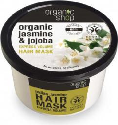 Organic Shop Maska do włosów organiczna Jaśmin i Jojoba 250 ml