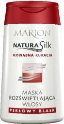 Marion Natura Silk Maska Rozświetlająca włosy 120 ml