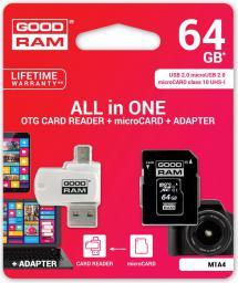 Karta MicroSD GoodRam 64GB (M1A4-0640R11)