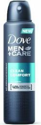 Dove  Antyperspiranty Men Care Clean Comfort antyperspirant w sprayu 150 ml