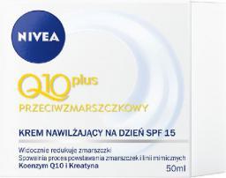 Nivea Q10 Plus Krem przeciwzmarszczkowy na dzień 50ml