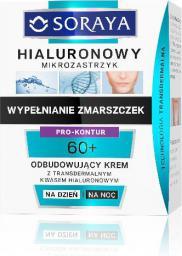 Soraya Hialuronowy Mikrozastrzyk Krem odbudowujący 60+ na dzień i noc  50ml