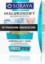 Soraya Hialuronowy Mikrozastrzyk Krem ujędrniający 50+ na dzień i noc  50ml