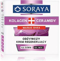 Soraya Kolagen Ceramidy Krem odżywczy regenerujący na dzień i noc  50ml