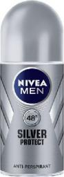 Nivea Dezodorant Antyperspirant SILVER PROTECT roll-on męski 50ml