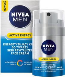 Nivea FOR MEN Active Energy Energetyzujący krem Skin Revitalizer 50ml