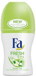 Fa Fresh & Dry Green Tea Dezodorant w kulce  50ml