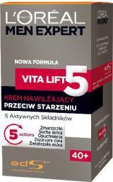 """Loreal Men Expert Vita Lift """"5"""" Krem do twarzy przeciw starzeniu 40+  50 ml"""