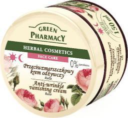 Green Pharmacy Herbal Cosmetics Krem do twarzy przeciwzmarszczkowy z różą 150 ml