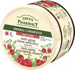 Green Pharmacy Herbal Cosmetics Krem do twarzy przeciwstarzeniowy z żurawiną  150ml