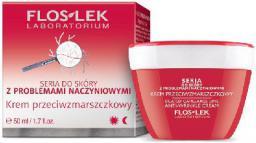 FLOSLEK Pielęgnacja skóry naczynkowej Krem przeciwzmarszczkowy na dzień i noc  50ml