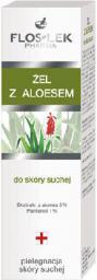 FLOSLEK Seria do pielęgnacji skóry suchej Żel z aloesem 50 ml