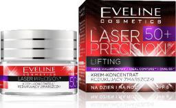 Eveline Laser Precision 50+ Krem-koncentrat na dzień i noc redukujący zmarszczki  50ml