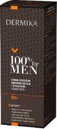 Dermika 100% for Men Krem 50+ przeciw zmarszczkom i bruzdom na dzień i noc  50ml