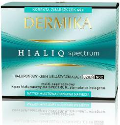 Dermika HialiQ Spectrum 40+ Hialuronowy krem uelastyczniający na dzień i noc 50ml