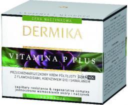 Dermika Krem do twarzy Vitamina P Plus przeciwzmarszczkowy 50ml