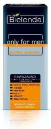 Bielenda only for men EXTRA ENERGY Krem nawilżający przeciw oznakom zmęczenia  50ml