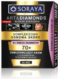 Soraya Art and Diamonds Kompleksowa Odnowa Skóry Dojrzałej 70+ Krem na noc 50ml
