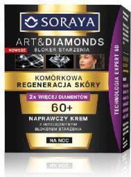 Soraya Art and Diamonds Komórkowa Regeneracja Skóry Naprawczy krem na noc 60+ 50ml