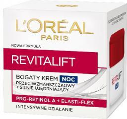 L'Oreal Paris REVITALIFT Krem na noc przeciwzmarszczkowy - ujędrniający 50 ml
