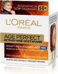 L'Oreal Paris Age Perfect Krem intensywnie odżywczy na noc 50+ 50 ml