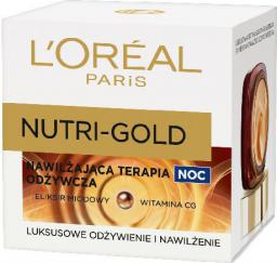 L'Oreal Paris Dermo Nutri-Gold Nawilżająca terapia odżywcza na Noc 50ml