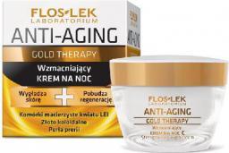 FLOSLEK Anti Aging Gold Therapy Krem na noc 50ml