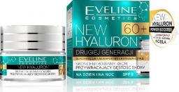 Eveline New Hyaluron Drugiej Generacji 60+ Krem-koncentrat na dzień i noc  50ml