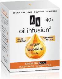 AA Oil Infusion 40+ Krem na noc  50ml