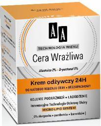 AA Technologia Wieku Cera Wrażliwa Krem odżywczy do każdego rodzaju cery 50ml