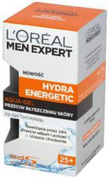 Loreal Men Expert Hydra Energetic Aqua Gel przeciw błyszczeniu skóry 25+  50ml
