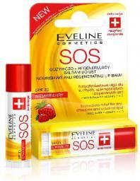 Eveline Pomadka - balsam ochronny do ust SOS  strawberry 4,5 ml