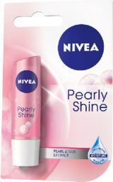 Nivea Lip Care Pomadka ochronna PEARL SHINE  4.8g