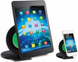 Podstawka/podkładka Techly Grab Universal Zestaw dwóch podstawek do tabletu i smaptphone czarny (022366)