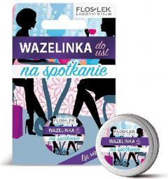 """FLOSLEK Lip Care Wazelinka do ust """"Na spotkanie""""  15g"""