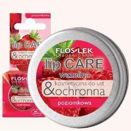 FLOSLEK Lip Care Wazelina do ust Poziomka  15g
