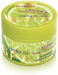 Perfecta Spa Peeling cukrowy do ciała energizujący Limonka & Trawa Cytrynowa 225g