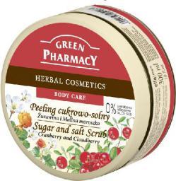 Green Pharmacy Peeling cukrowo solny Żurawina i Malina Moroszka do ciała  300ml
