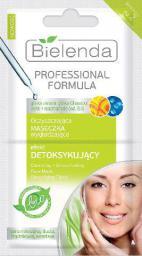 Bielenda Professional Formula Maseczka oczyszczająco wygładzająca Efekt Detoksykujący  5g x 2