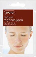 Ziaja Maska do twarzy regenerująca z glinką brązową  7ml x 20szt