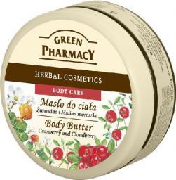 Green Pharmacy Masło do ciała Żurawina i Malina Moroszka  200ml