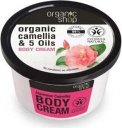 Organic Shop Krem do Ciała Japońska Kamelia 250ml