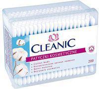 Cleanic Patyczki higieniczne Pudełko kwadratowe 200 szt