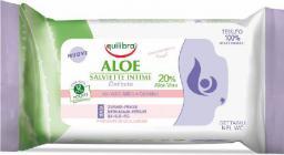 Equilibra Aloe Chusteczki do higieny intymnej  1 op.-12szt