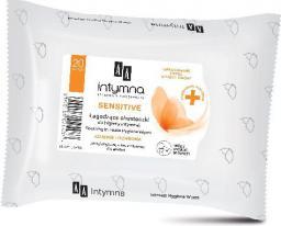 AA Intymna Chusteczki do higieny intymnej Sensitive 1op.-20szt