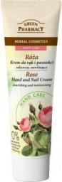 Green Pharmacy Krem do rąk i paznokci Róża odżywczo-nawilżający 100ml