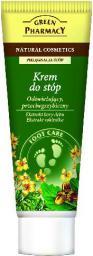 Green Pharmacy Krem do stóp Odświeżający przeciwgrzybiczny Kora dębu, Rokitnik - 810759